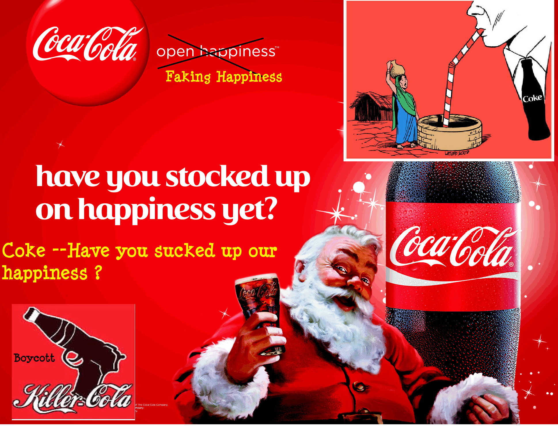 A Perfect Example Of A Capitalist Abuser Coca Cola And Its Egregious History Kractivism