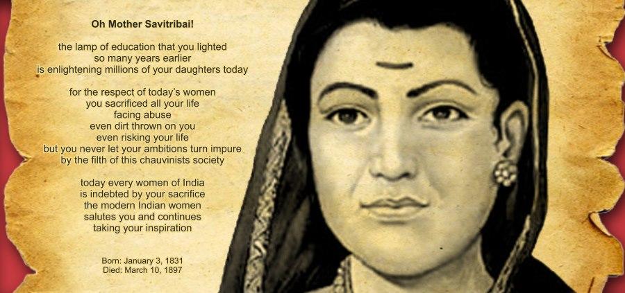 Do We Know Savitribai Phule First Woman Teacher Of India