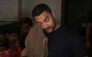 Aamir khan crying after watching bajrangi bhaijaan