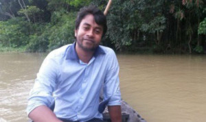 Postgraduate law student Nazimuddin Samad, 28, was attacked as he was returning from a class at his university in the capital, Dhaka,