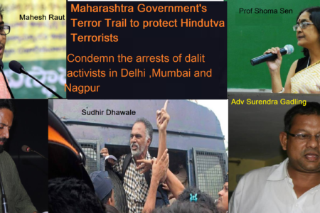 India – Who are the Five arrested for...