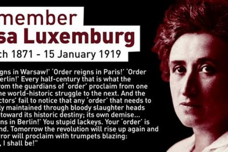 Red Rosa' Luxemburg and the making...